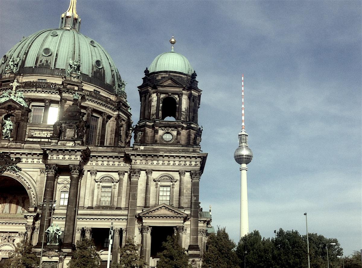 berlin, dom und fernsehturm