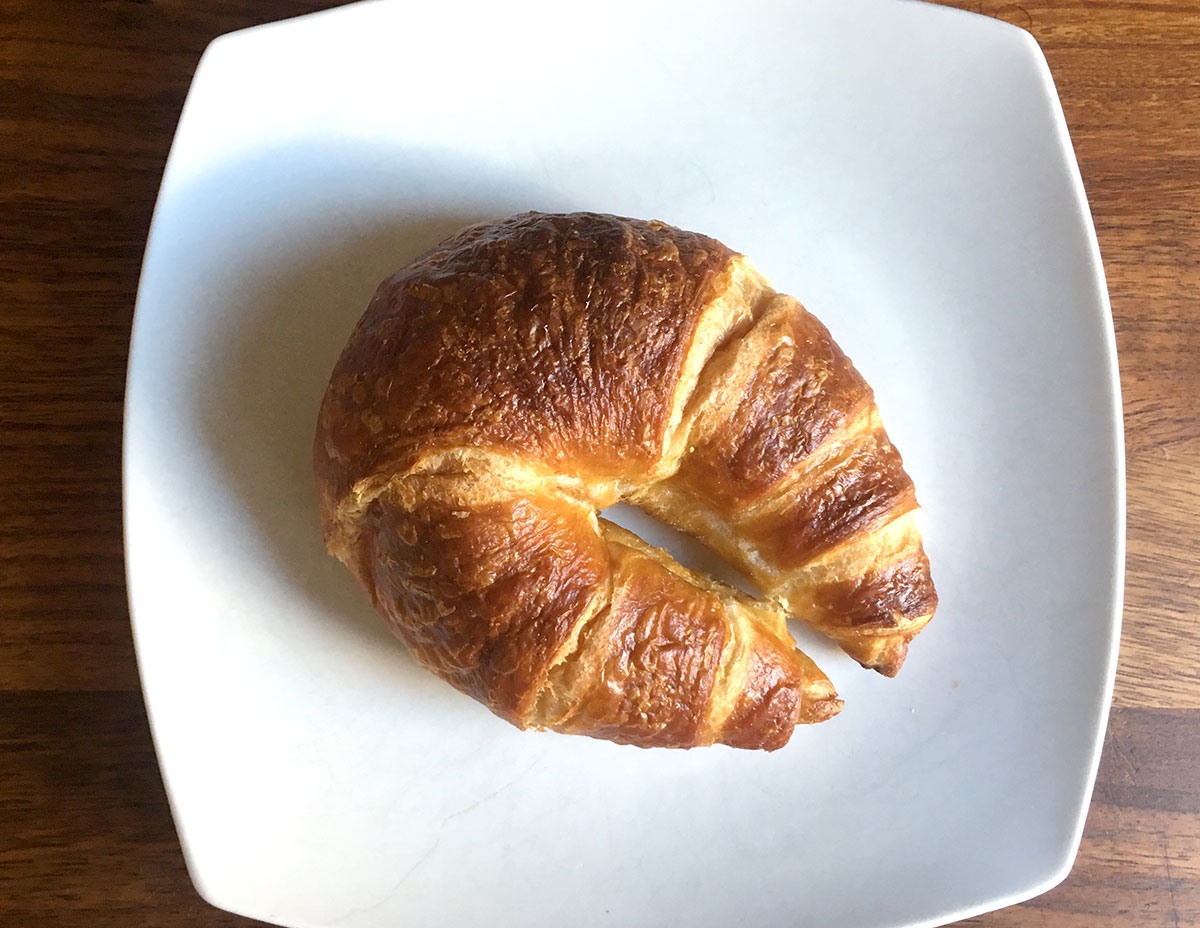 das krummste croissant aller zeiten