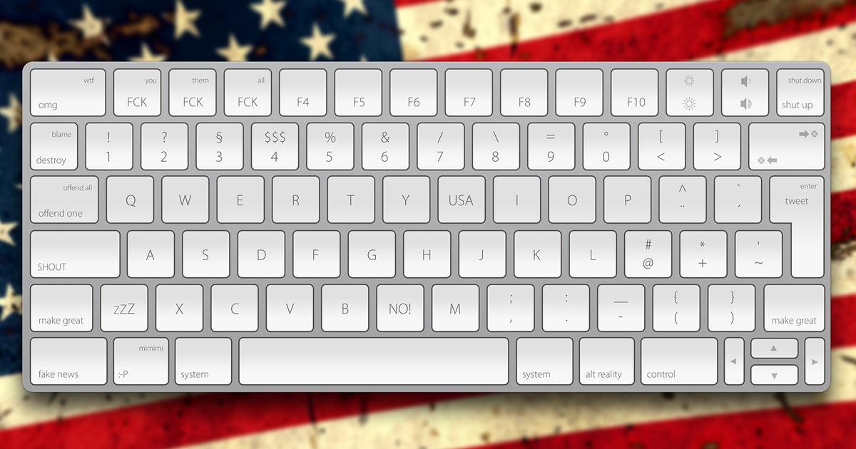 trumps tastatur vereinfachtes layout